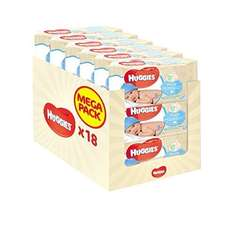 Huggies pure baby wipes x 18 (1008 in total) £9/ £8.55 S&S @ Amazon