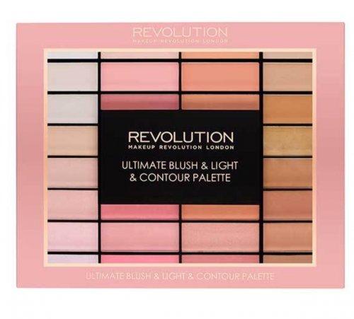 Half price on Revolution blusher & contour palette at Superdrug - £10