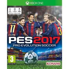 PES 2017 Xbox One (New) @ The Game Collection for £24.95
