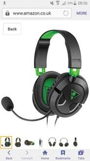 Turtle Beach Recon 50X Stereo Gaming Headset (Xbox One) £26.99 Amazon