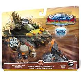 Skylanders SuperChargers Combo Pack – Shark Shooter Terrafin with Shark Tank & Skylanders SuperChargers Sea Racing Pack £2.99 Each Delivered @ Game
