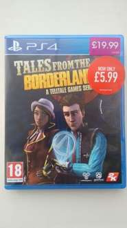 Tales  From The Borderlands PS4 £5.99 @ GAME