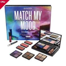 Seventeen Match my mood make up box 2 for £25 @ Boots