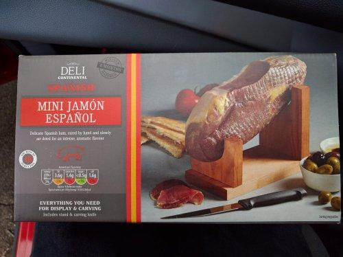 Mini Jamón Serrano 950g £12.99 @ Aldi instore
