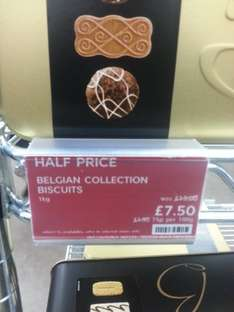 Belgian Collection 1kg £7.50 @ M&S