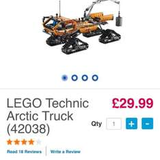 Lego 42038 Artic truck £29.99 @ Toys r us instore / online
