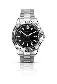 Sekonda Men's Quartz Watch with Black Dial Analogue Display & Stainless Steel Bracelet reduced from £59.99 to £22.99 @ Amazon