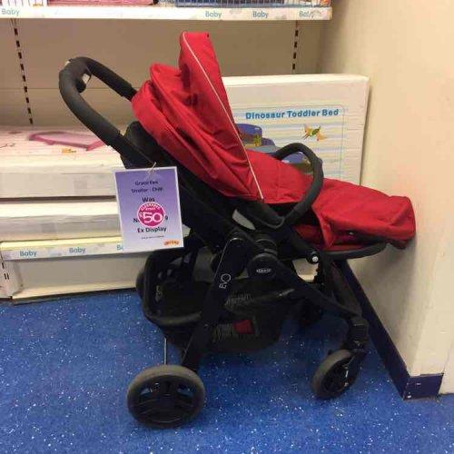 Graco Evo pushchair display model for £50 @ Smyth toys -  charlton