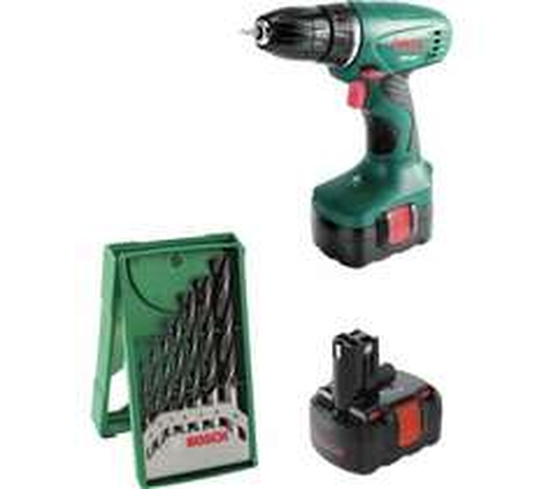 Bosch 14.4V Cordless Drill with 2 x 1.2Ah Ni-Cd batteries 711/3457 £39.99 @ Argos