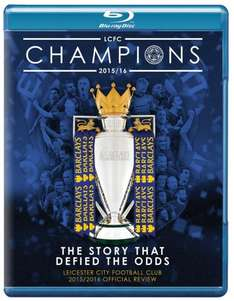 half price !!  blu ray LEICESTER CITY FOOTBALL REVIEW 2015/2016 SEASON £10 @ LFCDirect