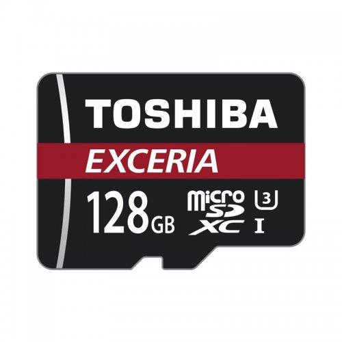Toshiba 128GB Exceria Micro SDXC £24.99 (was £34.99) MyMemory - 4K Card with Adapter UHS-I U3 - 90MB/s