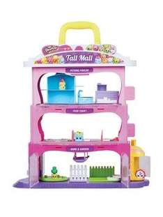 Shopkins Tall Mall Playset £27.99 with collect + @ Very
