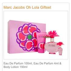 Marc Jacobs Oh Lola Giftset £31.49 (with code) at Rowlands Pharmacy