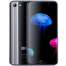 Elephone S7 4G Phablet  -  4GB RAM + 64GB ROM  BLACK 199096207 Android 6.0 Helio X20 Deca Core 2.0GHz FHD Screen 13.0MP + 5.0MP Cameras Fingerprint Sensor Compass