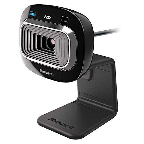Microsoft LifeCam HD-3000 HD Webcam (2 year guarantee) £17.97 @ John Lewis