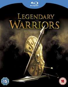 Legendary Warriors 4-Film Blu Ray Box Set (Troy, Clash of the Titans (1981), Clash of the Titans (2010) and 300) £4.67 delivered sold by Magic Movies @Amazon