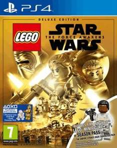 LEGO Star Wars: The Force Awakens Deluxe Edition Playstation 4 £24.99 @ Game