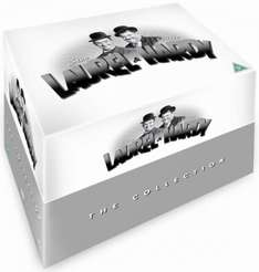 Laurel & Hardy - The Collection [21 Disc Box Set] DVD  £19.99  qco 6.6% Cashback