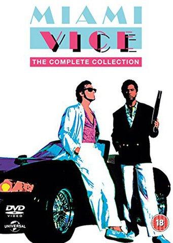 Miami Vice: The Complete Collection Box Set (DVD)  £19.99  Zavvi