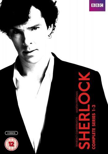 Sherlock - Series 1-3 [DVD] £10.50 Prime / £12.49 Non Prime @ Amazon