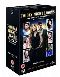 Friday Night Lights: Series 1-5 [DVD] 12.99 + delivery @ Amazon