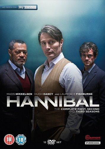Hannibal - Season 1-3 [DVD] 14.99 + postage @ Amazon