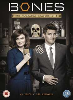 Bones - Season 1-8 [DVD] 25.99 @ Amazon