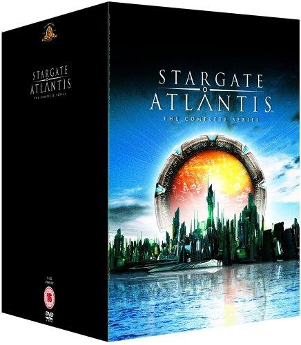 Stargate Atlantis - Seasons 1-5 - Complete [DVD] 31.49 @ Amazon