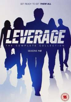 Leverage: Complete Collection [DVD] 27.49 @ Amazon