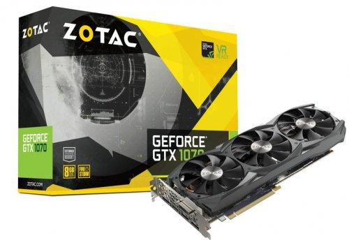ZOTAC GeForce GTX 1070 + Watch Dogs 2 Free £369.98 @ Novatech