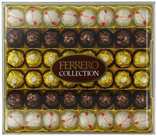 Ferrero 48 Piece Collection, 518g, @ Amazon £9.42 (Prime) / £14.17 (non Prime)