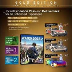 watchdogs 2 gold edition Xbox One/PS4 - £49.99 @ Amazon