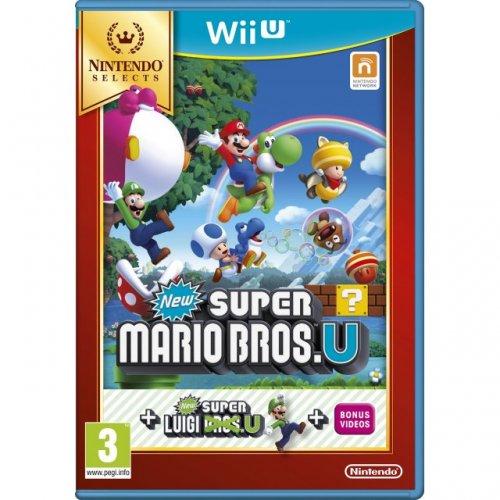 Nintendo Selects - Super Mario Bros U. (Includes Super Luigi U) - £14.99 instore at HMV