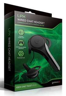 LPX WIRED CHAT HEADSET FOR XBOX ONE AND PS4 ONLY £4.99 AT GAME WITH FREE DELIVERY