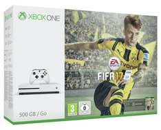 Xbox One S 500gb Fifa 17 Bundle + 6 Games + Extra Controller £349 @ Tesco Direct