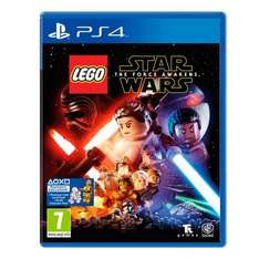 Lego star wars the force awakens for PS4 and Xbox One was £34.99 now £14.99 Argos same price on PS4 with FREE BB8 Bag link in post @ Smyths And Argos