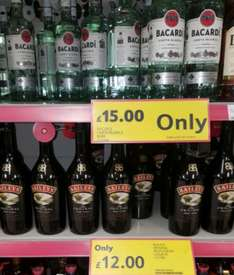 Baileys 1Litre £12 @ Tesco instore Dedworth (Windsor)