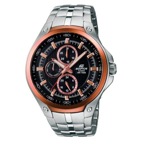 Casio Edifice Men's Stainless Steel Bracelet Watch, £78 from ernest jones