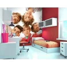 ✱Cyber monday ✱ One Direction wall murial £5.00 used to be £49.99 (Del Orders lighter 1kg = £5.95, Orders heavier than 1kg = £6.95) @ i love wallpaper