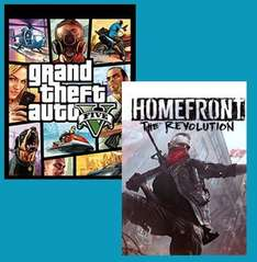 GTA V PC [Social Club DRM]  £16.14 + Mysetry Game  / Homefront: The Revolution [Steam] PC £8.32 + Mystery game @ GMG (Using code/logged in)