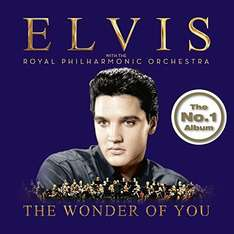 Elvis with the royal philharmonic orchestra CD - The wonder of you. £6.99 (Prime) £8.98 non prime at Amazon.