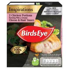 Birds Eye Inspirations 2 Chicken With Garlic & Herb Sauce (240g) was £1.40 now £1.00 @ Morrisons