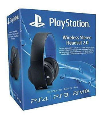 Sony PlayStation Wireless Stereo Headset 2.0 - Black (PS4/PS3/PS Vita £46.54 @ Amazon