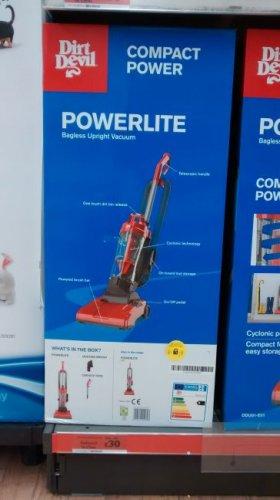 Dirt Devil Powerlight Upright Vacuum Cleaner- £30 Sainsburys Instore