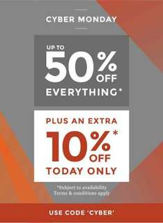 Burtons Ends midnight - 50% off + now an extra 10%