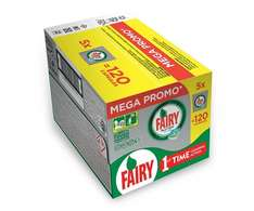 Fairy Platinum Regular Dishwasher Tablets - 120 Tablets (5 x 24 Pack) £17.16 /  £16.30 S&S @ amazon
