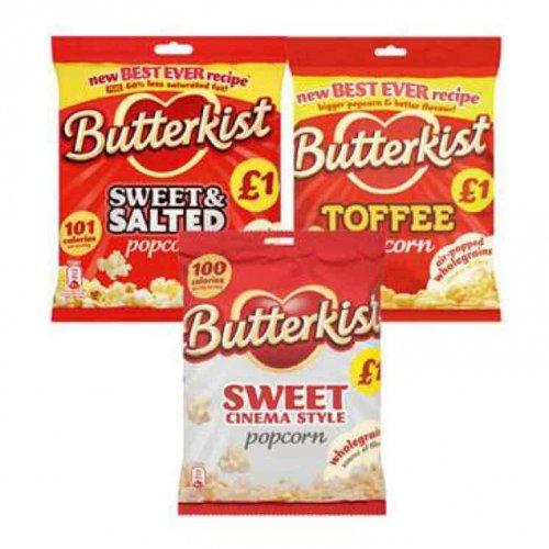 Butterkist popcorn @ Spar (instore) £1 for 2 bags