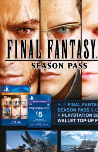 Final Fantasy XV Season Pass + Free £5 PSN credit £19.85 @ ShopTo