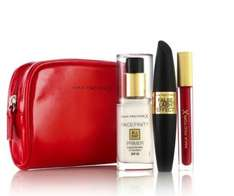 Max Factor Free Christmas gift on spending £15 on selected @ Boots + Quidco