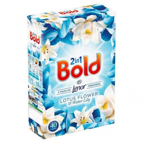 Bold Washing Powder Lily 40 Washes 2.6Kg - £5 @ Tesco